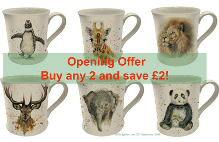 Bree Merryn Wildlife Safari Mug Collection